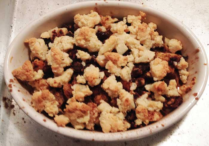 Winter Apple And Dried Fruit Pie Recipe — Dishmaps